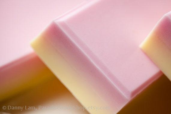 Bright Orient - shea butter soap - Musk, Vanilla, Lemon - SHOP CLOSING SALE