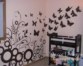 SALE. 1 Day Only. 50% OFF. Use Coupon Code CYBER50.Beautiful Butterfly Nursery Combo Vinyl Wall Decal Sticker