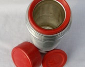 Vintage Thermos Steel Vacuum Bottle