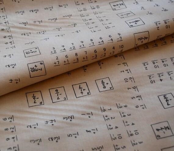 Math Test, American Vintage, 50s repro