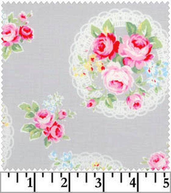 Gray Lace Rose, Flower Sugar, Lecien