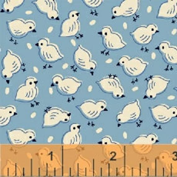 Baby Chicks on Blue, Once Upon A Storybook