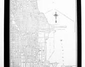 1944 Chicago Street Map