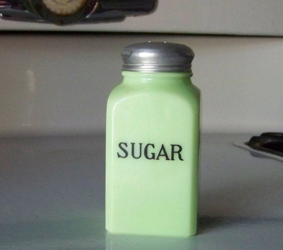 Jadite Sugar Shaker from a range set