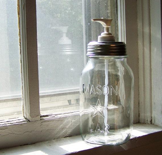 Star Jar Quart Pump Dispenser