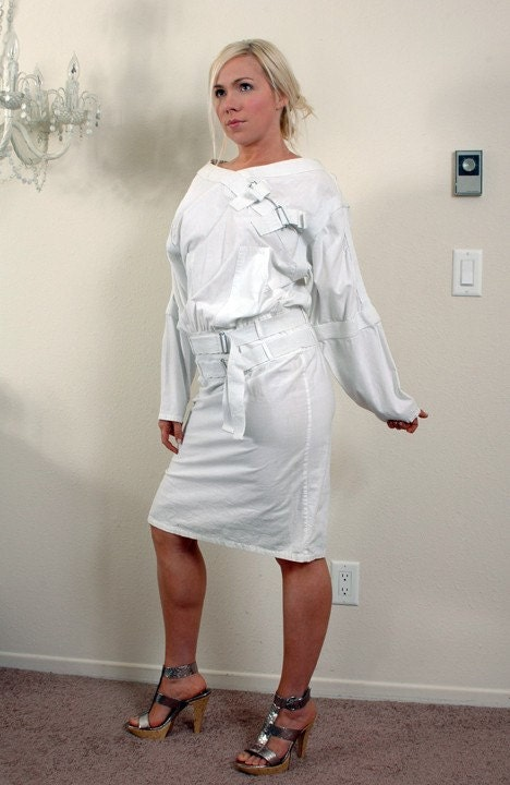 Straight Jacket Dress by SoVaL on Etsy
