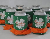 St Patricks Day Personalized Beverage Can Koozie Personalized