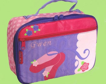 Stephen Joseph Child's BALLET SHOES Lunchbox Monogramming Included In Price