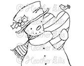 Mr Snowman 002
