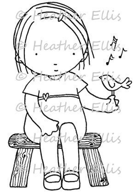Pure Innocence 029 digi stamps, digital stamps, clip art, card topper,