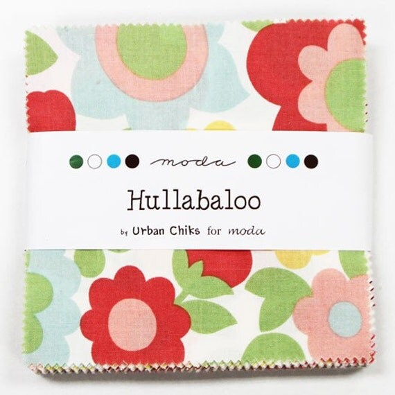 Hullabaloo by Urban Chiks for Moda - Charm Pack