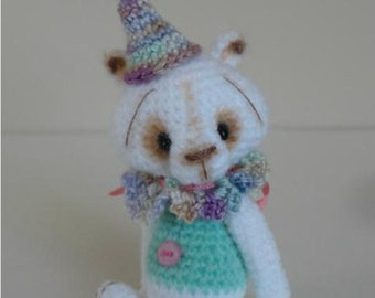 Miniature Crochet THREAD ARTist BuBBleGuM Bear Pattern PDF