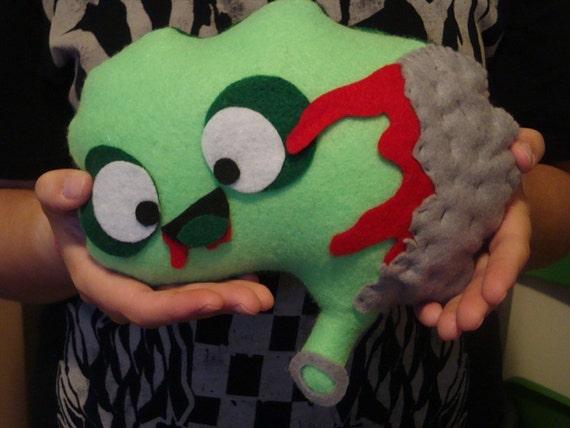 Brain Vital Organ Plush Stuffed Toy - Zombify, Geekify, Girlify - Custom