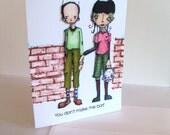 Humorous Love Greeting Card