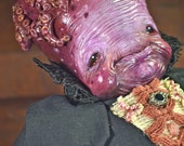 final payment -  ON RESERVE - SALE - Cerapia Octopuslinda - art doll creature  octopus fantasy