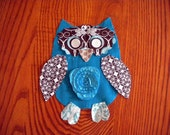 Custom Listing for Kristinc1 - Turq Owl Hoo-pla Shirt & Headband