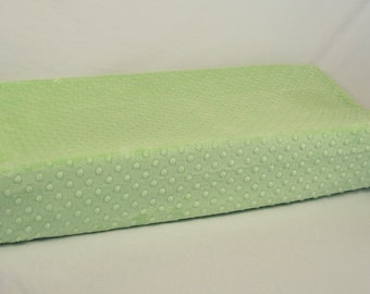 Light Green Changing Pad Cover Honeydew