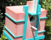 Art Deco Birdhouse