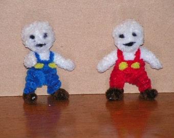 Fuzzy Figures- Snow Bros.