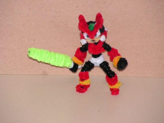 Fuzzy Figures - Megaman Zero