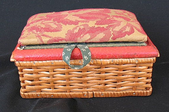 Sewing Box Made in Germany US Zone  1950's Vintage Treasure Now on SALE
