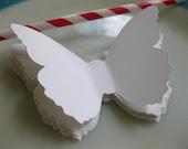 Giant 4 Inch Paper Butterflies Die Cut Butterfly