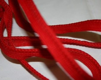 Vintage Red Piping