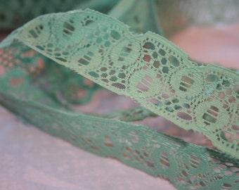Vintage Sage Green Lace