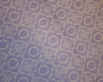 Vintage Lilac Textured Fabric