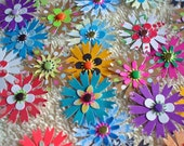 12 - One Of A Kind Paper Flower Assortment - Free Secondary Shipping