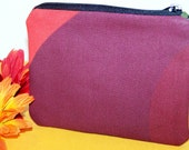 Small Zipper Pouch - Rainbow Colors