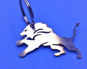 DETROIT Lions Stainless Steel Keychain