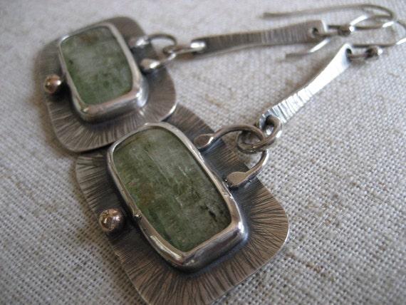 alainn kyanite dangle earrings