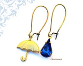 FREE SHIPPING. It's Raining. Dangle Earrings. Drop Earrings