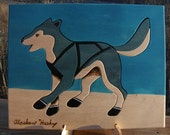 Alaskan Husky Sled Dog Puzzle -  Reserved for Stephanie