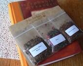 Sweet - Tea Sampler Pack - Rooibos, Black and Green Tea Blends - Handmade