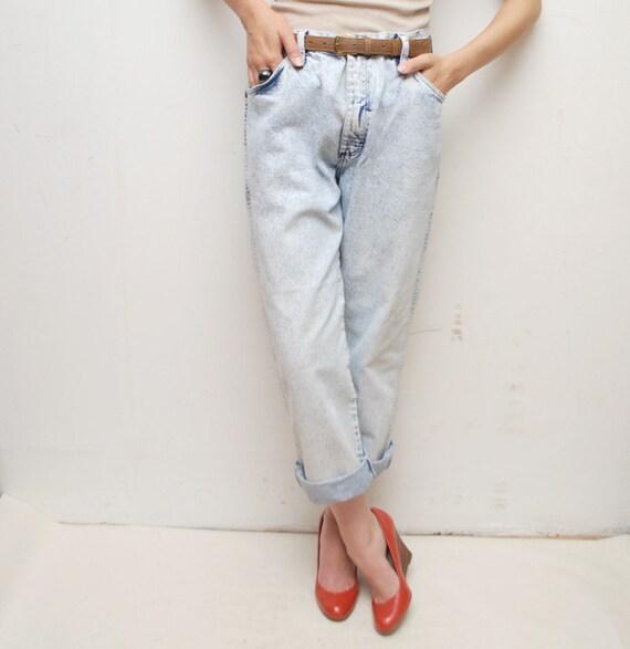 80s WRANGLER acid wash jeans - xl, unisex
