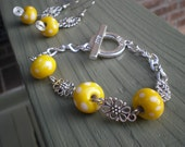 Daisy Chain. Sookie Stackhouse Bracelet and Earring Set.