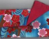 Cherry Blossom Landscape Pouch