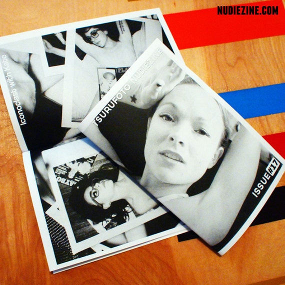Holiday Clearance!!! NUDIEZINE Issue No. 17 - MATURE