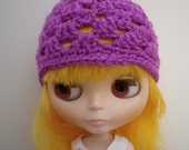 Blythe Granny Hat in Lilac