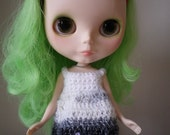 Crochet Blythe Dress in Sparkle