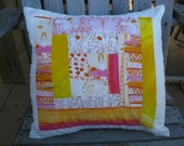 Fairy Tale Patchwork Pillow Cover