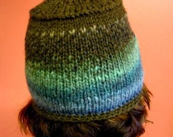 Dissolve stranded colorwork hat pattern