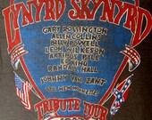 Vintage 1987 Lynard Skynyrd Tribute Tour T Shirt M / L