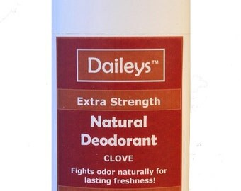 Clove Natural Deodorant - Extra Strength for Lasting Freshness - Made for Sensitive Skin