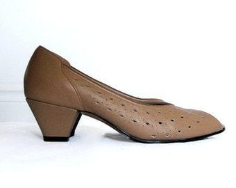 Vintage nude heels – Etsy