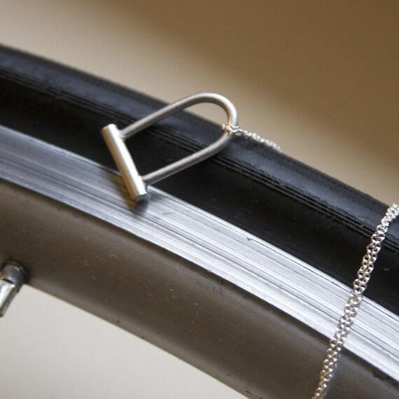 Bike Lock Necklace