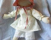 Emmaline Civil War Rag Doll Made to Order