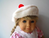 18 Inch Doll Clothing Molly's Beret fits American Girl